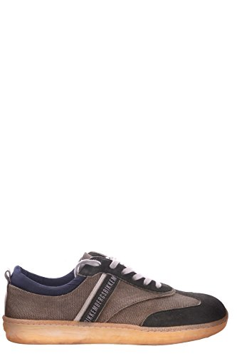 Bikkembergs Men's Mcbi042035o Green Suede Sneakers (Men Bikkembergs Shoes)