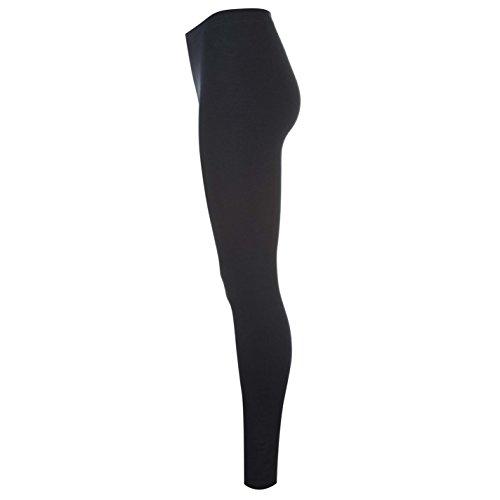 Miso Mujer Basic Leggings Señoras Pantalones Deporte Entrenar Casual Vestir Azul Marino