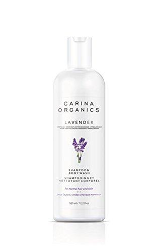 Carina Organics Lavender Shampoo & Body Wash