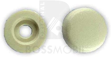 X 5 X 9,5 mm BOSSMOBIL Vite Tappo Di Copertura Cappello Di Protezione Beige 17