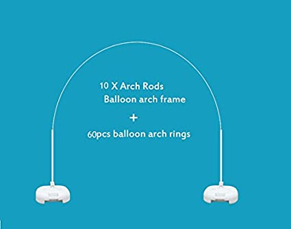Big Size Balloon Arch Frame Kit Stand 10 Arch Rods For Store U0026 School