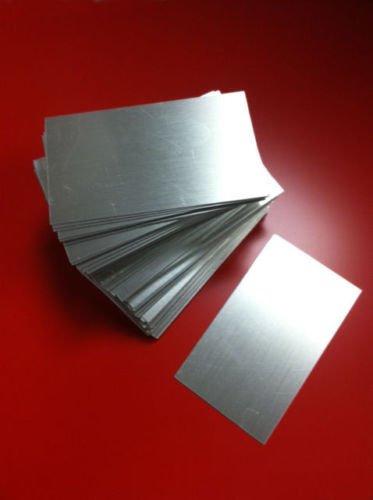 Amazon Com 100 Aluminum Business Card Blanks Laser Engraver