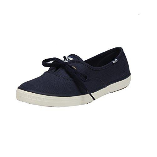 Keds Womens Breeze Washed Fashion Sneaker Peacoat Navy