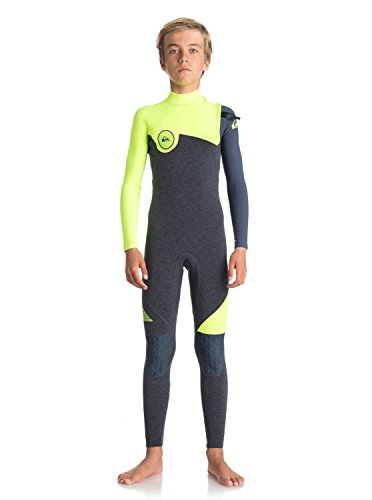 Quiksilver Boys 4/3Mm Highline Series - Zipperless Wetsuit Zipperless Wetsuit Black (Highline Series)