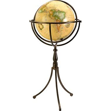 IMAX 20217 Trendy Vaughn Globe on Iron Stand