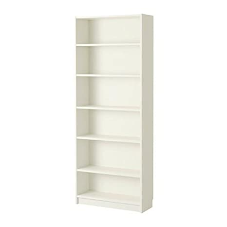 Amazon.com: Ikea Billy Estantería, Madera, Blanco ...