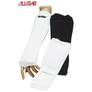 Football Combination Forearm-Wrist-Hand Pads (2 Colors, 4 Sizes) (Youth (One Size), Black)