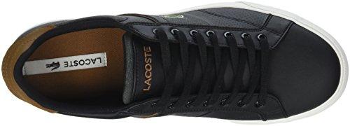 Blk Nero 315 Lacoste Sneaker 1 Tan Uomo Fairlead 318 Cam nY10w7Tq