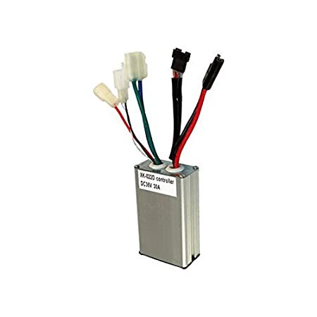 amazon com: currie 36 volt 30 amp controller - with 5 pin throttle  connector for schwinn s1000, s750, ezip e1000 & izip i1000 electric  scooters