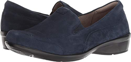 Women's Channing Naturalizer Navy Loafer 192 Suede ZFBTqwp