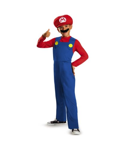 Super Mario Bros Boys Classic Costume