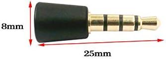 Ruitroliker 2PCS 3.5MM Mikrofon Mini Mikrofon Kabellos fr PS4 ...