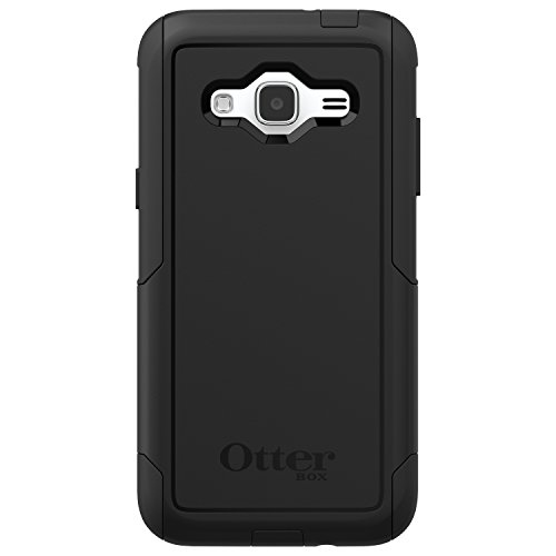OtterBox Commuter Series Case for Samsung Galaxy J3 2016 Only (Not for 2017 Model)/J3V - Retail Packaging - Black