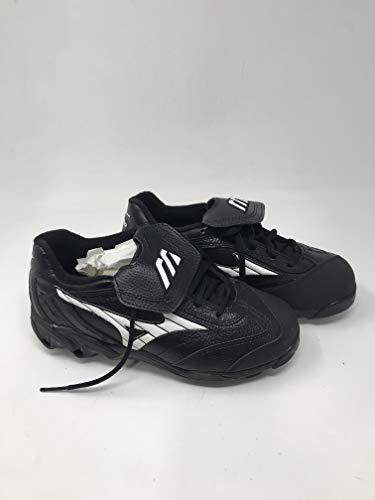 Mizuno New Finch 9 Spike 320232 Womens 9.5 Fastpitch Softball Cleats Black/White