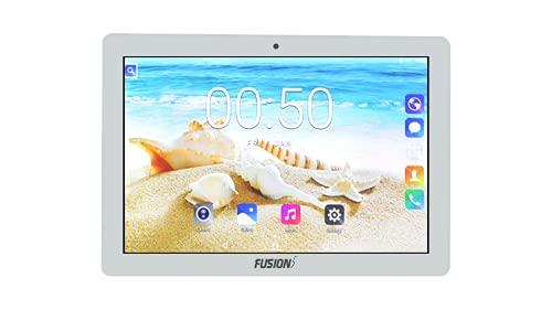 Fusion5 4G Tablet  2 GB RAM, 32 GB Storage, Wi Fi + 4G LTE + Voice Calling   White, 10.1 Inch  25.65 cm
