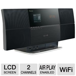Pioneer X-SMC4-K AirPlay Bluetooth Music System (Discontinued by Manufacturer) by PIONEER
