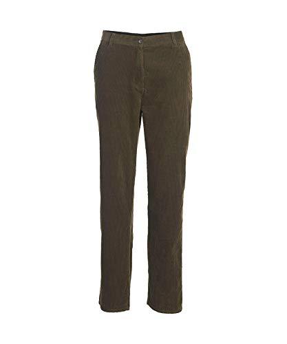 Woolrich Women's Country Corduroy Pants, DK LODEN (Green), Size 10