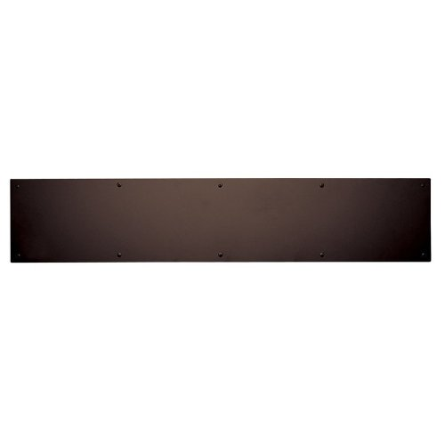 Baldwin 2000.0630 6 Inch x 30 Inch Solid Brass Kick Plate, Venetian Bronze ()