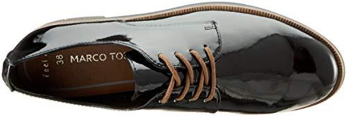 Femme 018 2 Black 018 21 2 Patent Noir Marco Tozzi Richelieus 23202 Aqxf0wS1Xn