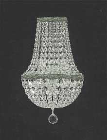 Empire crystal wall sconce lighting w 95 h 18 d 5 chandeliers empire crystal wall sconce lighting w 95quot aloadofball Choice Image