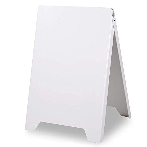 Noa Store Double Side Sidewalk Pavement A Frame PVC Sandwich Board Dryerase Menu Sign