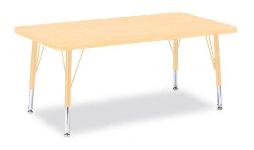Jonti-Craft Berries Round Activity Table Prism Maple 24