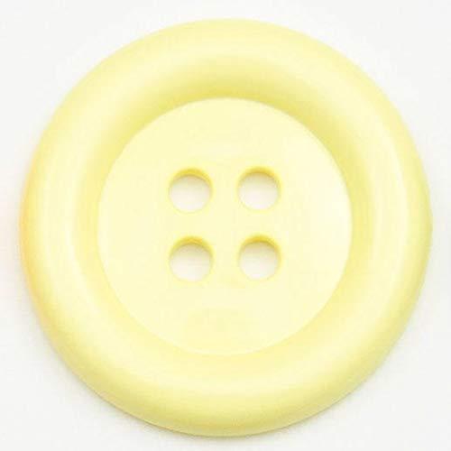 Gros Boutons Clown 50mm - Vendu à l'Unité - Jaune