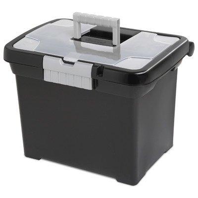 Sterilite 18719004 Portable File Box