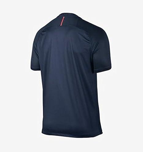 Nike Paris Saint Germain 2016/2017 Home Soccer Jersey (Midnight Navy)