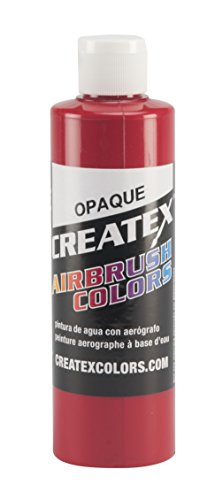 for Airbrush, 8 oz, Opaque Red ()