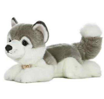 All Seven @ New Arrival Siberian Husky Dog Plush Stuffed Animal Toy 11