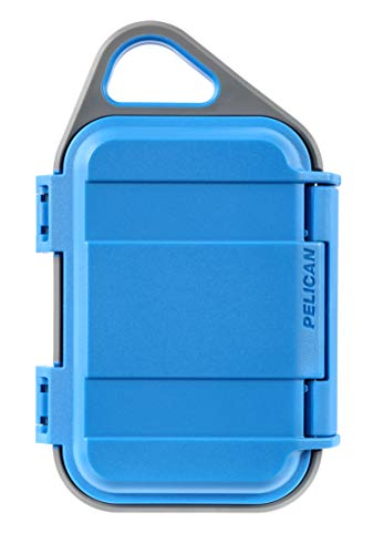 Pelican Go G10 Case - Waterproof Case (Surf - Case Blue Pelican Micro