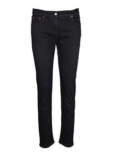 Jeans Femme QB3DD07H45L550 Valentino Coton Bleu UTIwB
