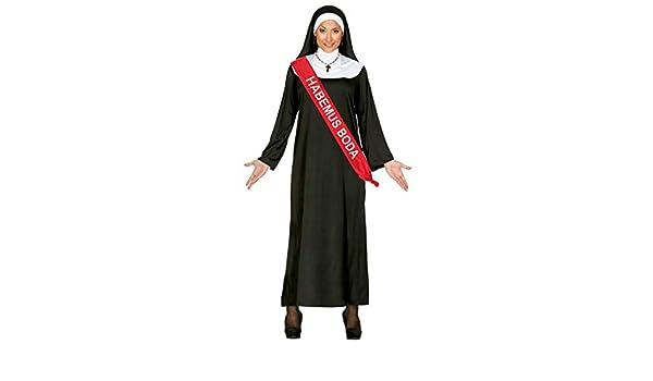 Disfraz de Monja con Banda - Despedidas de Soltera: Amazon.es ...