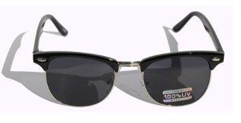 Unas gafas de sol retro (unisex) de estilo Clubmaster con ...