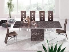 Magnifique Table De Salle à Manger Extensible Zeus Marbre