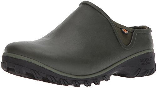 Bogs Women's SAUVIE Clog Snow Boot, sage, 10 Medium US