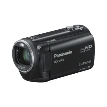 Panasonic HDC-SD80K HD SD Card Camcorder (Black) (Discontinued by Manufacturer)