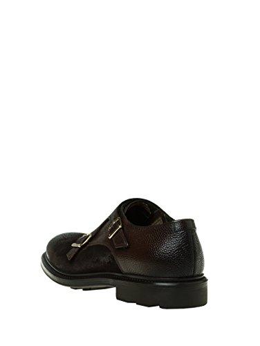 DOUCALS derby scarpe doppia fibbia in