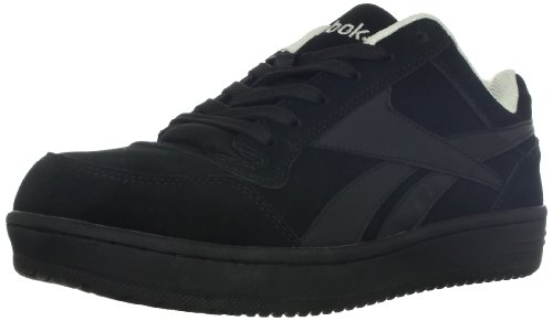 Reebok Work Men's Soyay RB1910 Safety Shoe,Black Oxford,10.5 M US