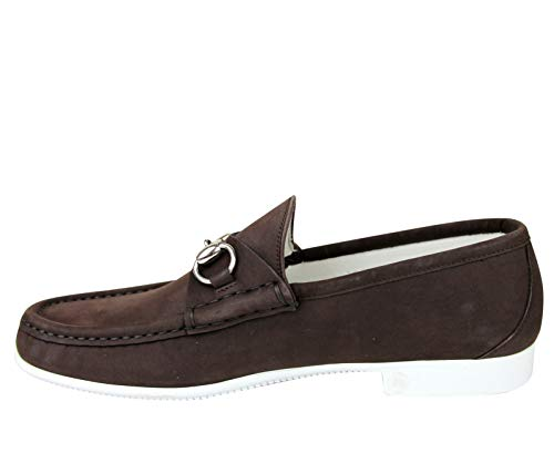 3f17895c6e7 Amazon.com  Gucci Moccasin Suede Horsebit Loafer 337060 BHO00  Shoes