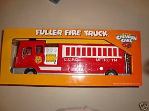 (The Chevron Cars Fuller Fire Truck No 42 2008 CollectibleToy)
