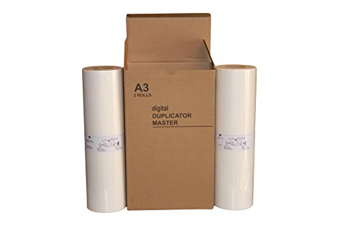 Risograph Master Compatible (2 Wholesale Widgets Brand A3-LG Masters, Compatible with Riso S-4363 Z-type for use in Risograph MZ790, RZ390, RZ590, and RZ790 Duplicators RISS4363C)