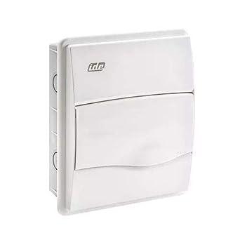 IDE BM8PO IP40 Caja de Distribución de Empotrar, Blanco, 228mm x ...