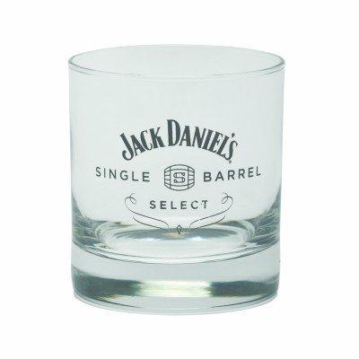 (Jack Daniels Single Barrel Select Signature Rocks Glass)