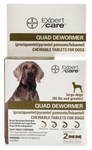 31pzoSE1H6L - Quad Dewormer (45+ lbs) by ExpertCare