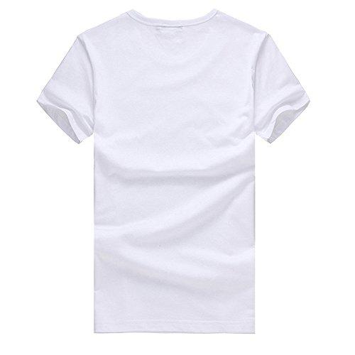 Imprimé Couple Sport Amlaiworld Original Manches Courtes Blouse T Tees shirt Hommes À Chemise Fashion Humour Été qqAPrvIw