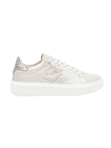 Lotto Women's T4616 White Suede Sneakers HVCSCr
