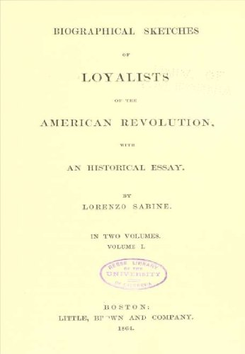 Amazoncom Biographical Sketches Of Loyalists Of The American  Biographical Sketches Of Loyalists Of The American Revolution  With An  Historical Essay Volume  Essay Paper Generator also Thesis Argumentative Essay  How Does Mla Help College And High School Students