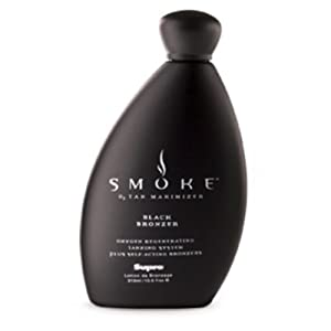 Supre Smoke Black Bronzer, Tanning Lotion, 10.5 oz